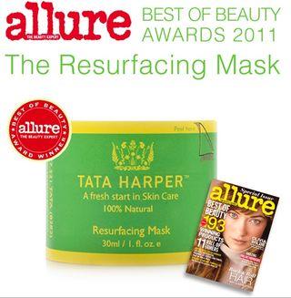 Tata Harper allure award