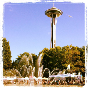 Space Needle Summer